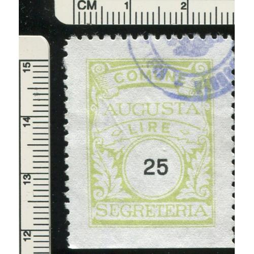 Italy Municipal Revenue  Augusta    i118