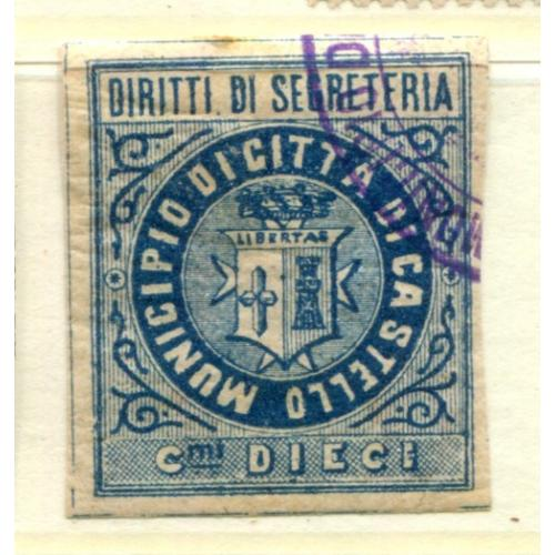 Italy Municipal Revenue Castello      ,  i1422
