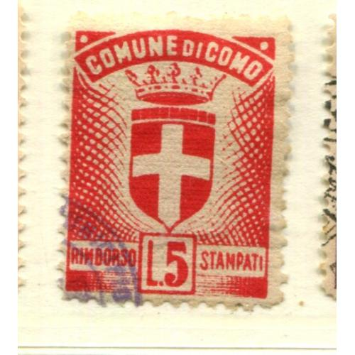 Italy Municipal Revenue  Como    i1491