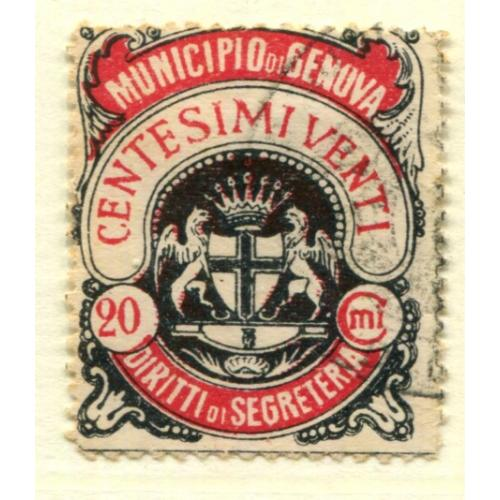 Italy Municipal Revenue Genova      ,  i1507