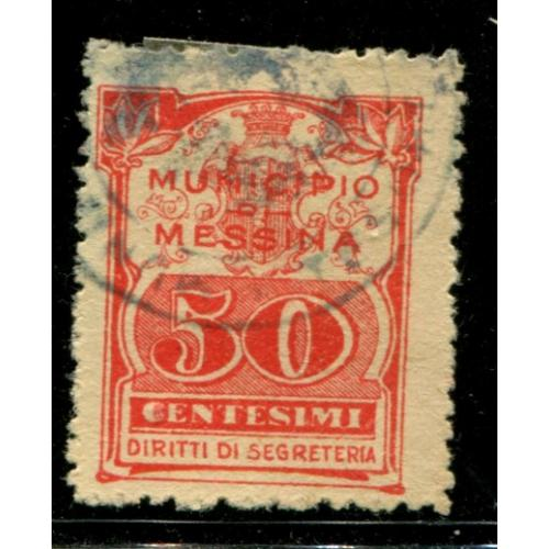 Italy Municipal Revenue  Messina    i1629