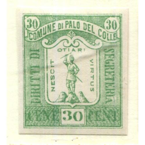 Italy Municipal Revenue  Palo del Colle, OG PROOF    i1837