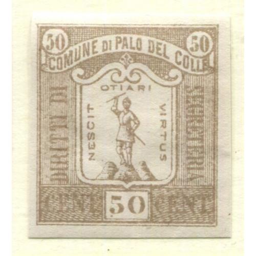 Italy Municipal Revenue  Palo del Colle, OG PROOF    i1838