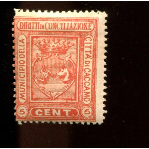 Italy Municipal Revenue Sanremo  4th Series 5 c   OG,  i2452