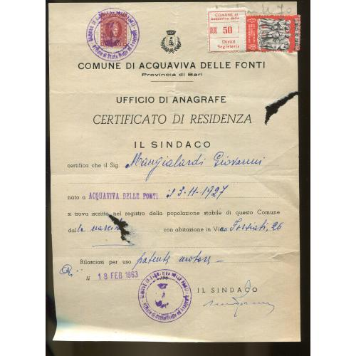 Italy Municipal Revenue Document  Italy Municipal Revenue Document    id013
