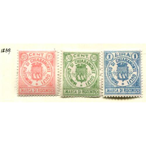 Italy Municipal Revenue  Chiaramonte Gulfi 1889      it1273