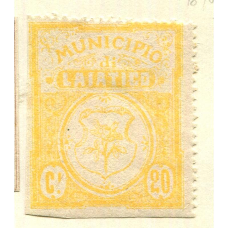 Italy Classic Municipal Revenue  Laiatico 2nd issue OG  it1376